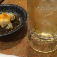 Photo taken at 鰓呼吸 麻布十番店 by Hiroco on 7/12/2015