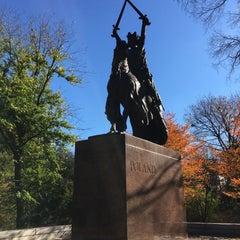 Photo taken at King Jagiello / Poland Monument by Jeff S. on 11/8/2015
