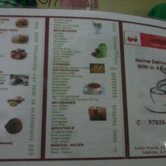 Photo taken at Genesis coffee shop by sejal j. on 10/2/2012