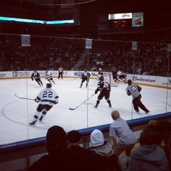 Photo taken at Maverik Center by Nate B. on 3/9/2013