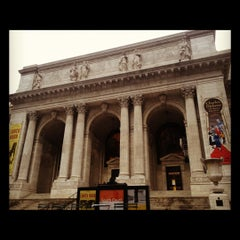 Photo taken at New York Public Library - Wertheim Study by Nani on 11/8/2012