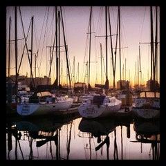 Photo taken at Marina Del Rey pier by Allegra S. on 9/15/2012