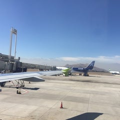 Photo taken at Puerta / Gate 28 by Carlo M. on 4/18/2015