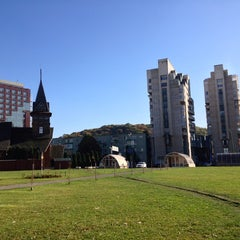 Photo taken at Parcul Centrul Civic by Carlo M. on 10/10/2014