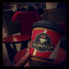 Photo taken at Second Cup by Omar on 10/18/2012