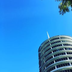 Photo taken at Capitol Records by Bryce R. on 2/4/2016