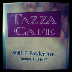 Photo taken at Tazza Cafe by Suzanne K. on 1/16/2013