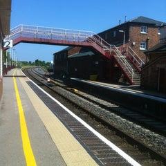 Photo taken at Oakham Railway Station (OKM) by Elizabeth B. on 7/6/2013