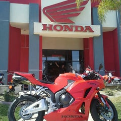 Photo taken at Huntington Beach Honda Motorcycles by Huntington H. on 3/26/2013