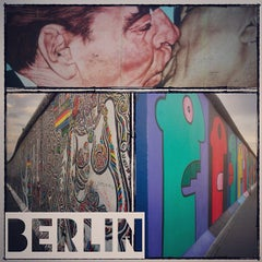 Photo taken at East Side Gallery by Alberto B. on 9/15/2012