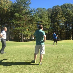 Photo taken at Birkdale Golf Club by Daniel D. on 10/30/2015