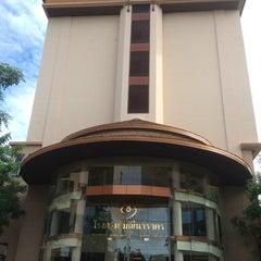 Photo taken at โรงแรมมณีนาราคร (Maninarakorn Hotel) by Ella M. on 9/4/2014
