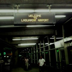 Photo taken at LaGuardia Airport (LGA) by Naoki on 9/18/2012
