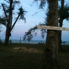 Photo taken at Pantai Cherating by Jeff on 7/7/2013