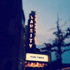 Photo taken at Varsity Theater & Cafe des Artistes by Som on 9/17/2012