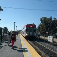 Photo taken at Hillsdale Caltrain Station by David V. on 5/12/2013