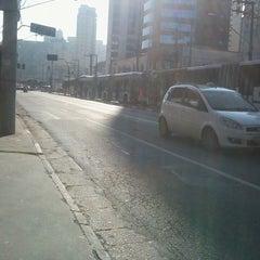 Photo taken at Avenida Santo Amaro by Geovane R. on 6/5/2013