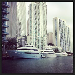 Photo taken at Miami Circle Park by Timur G. on 1/18/2013