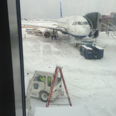 Photo taken at Buffalo Niagara International Airport (BUF) by Sadaf on 2/2/2013