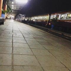Photo taken at สถานีรถไฟศรีสะเกษ (Sisaket) SRT2273 by suriya s. on 12/25/2015