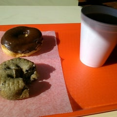 Photo taken at Great American Donut Shop by Mike S. on 2/18/2014