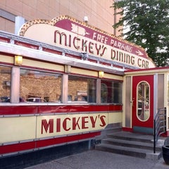 Photo taken at Mickey's Diner by Brandi on 7/10/2013