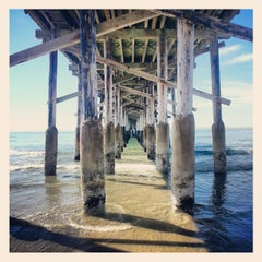 Photo taken at Newport Pier by Liam W. on 2/16/2013
