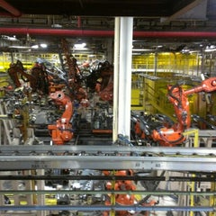 Photo taken at Chrysler Sterling Heights Assembly Plant by Sam M. on 11/6/2012