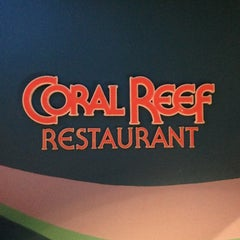Photo taken at Coral Reef Restaurant by Earl K. on 1/16/2013