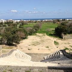 Photo taken at Αρχαίο Στάδιο (Ancient Stadium) by Irene on 3/19/2013