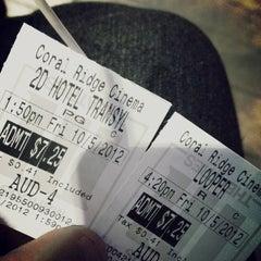 Photo taken at Marcus Coral Ridge Cinema by Van on 10/6/2012