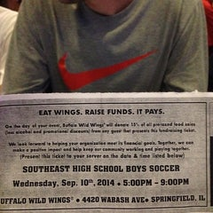 Photo taken at Buffalo Wild Wings by Oda S. on 9/10/2014