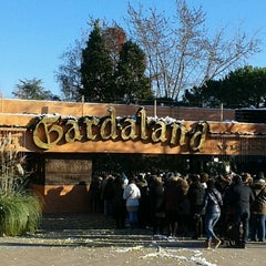 Photo taken at Gardaland by Anna M. on 12/9/2012
