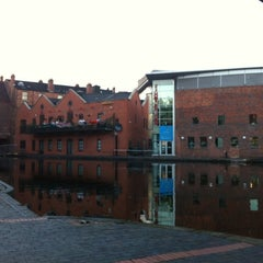 Photo taken at Canalside Cafe by Hannah H. on 10/6/2012