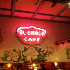Photo taken at El Cholo by David T. on 10/8/2012