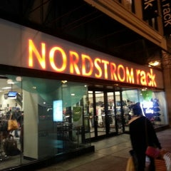 Photo taken at Nordstrom Rack The Shops at State and Washington by Ron W. on 1/27/2013