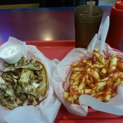 Photo taken at Windy City Gyros by Ron W. on 9/30/2012