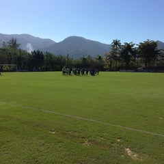 Photo taken at Ninho do Urubu (CT do Flamengo) by Carlos S. on 7/5/2013