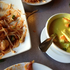 Photo taken at Kozy Corner Thai Cuisine by Greg D. on 1/31/2013