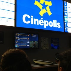 Photo taken at Cinépolis by Miguel F. on 12/28/2012