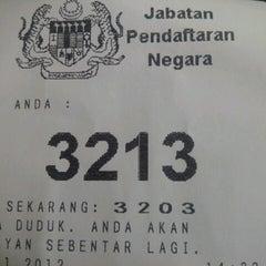 Photo taken at Jabatan Pendaftaran Negara Negeri Perak by kech.iK e. on 11/20/2012