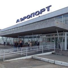 Photo taken at Международный аэропорт Большое Савино / Bolshoye Savino International Airport (PEE) by Алекс on 9/20/2012
