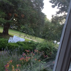 Photo taken at Bee and Thistle Inn by Ali M. on 7/24/2015
