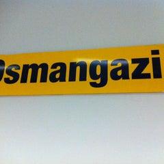 Photo taken at Osmangazi Metro İstasyonu by Erkan B. on 12/19/2012