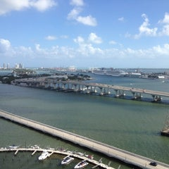 Photo taken at Miami Marriott Biscayne Bay by Jeroen on 10/13/2012