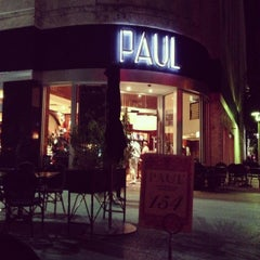 Photo taken at Paul Bakery Cafe by yuliya on 11/25/2012