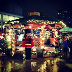 Photo taken at Vancouver Christmas Market by Ando on 11/30/2012