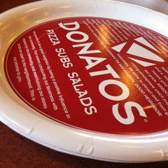 Photo taken at Donatos Pizza by Katelyn B. on 1/9/2013
