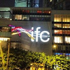 Photo taken at IFC Mall 國際金融中心商場 by Pavel V. on 4/1/2013
