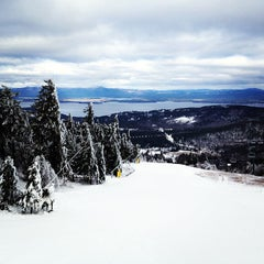 Photo taken at Gunstock Mountain Resort by Tyler M. on 12/19/2012